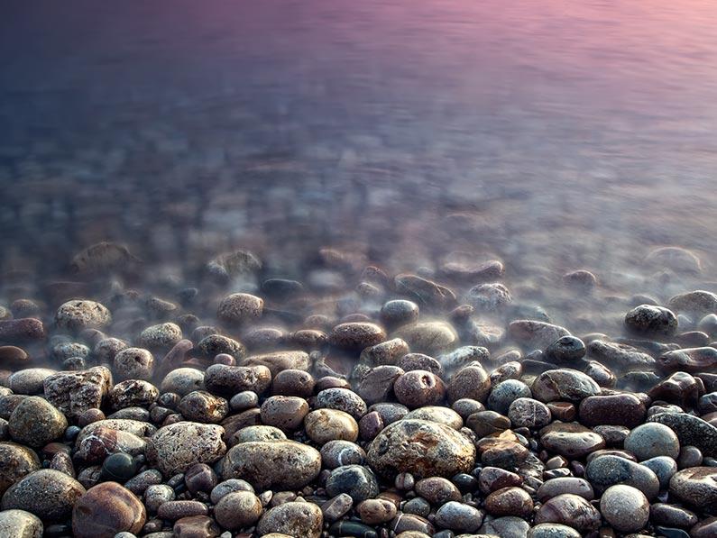 عکاسی از سنگهای رنگی